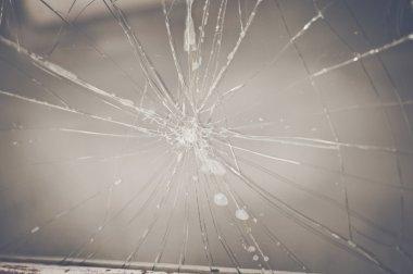Retro Cracked Window