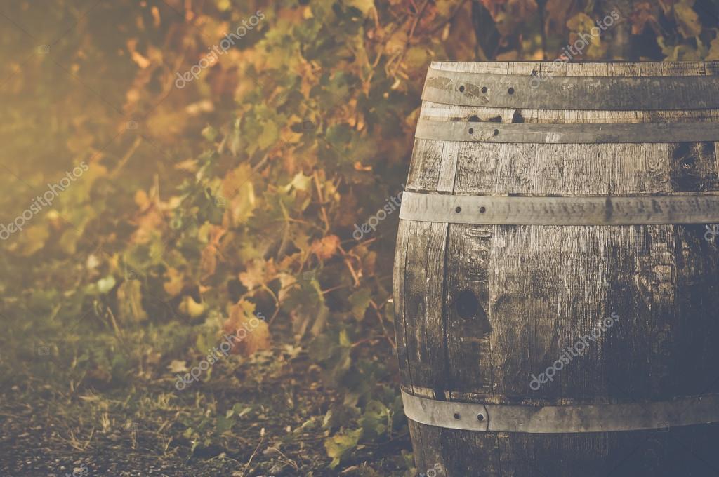 Wine Barrel outside