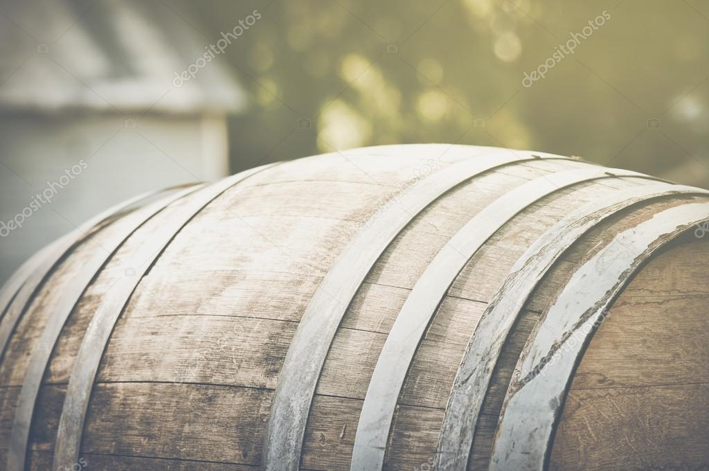 Wine Barrel outside