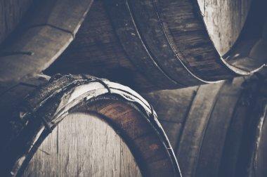 Dark Wine Barrels
