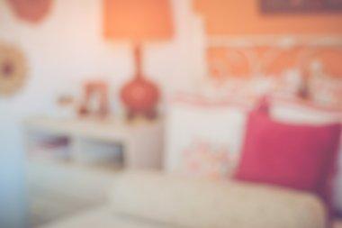 Blurred Girl's Bedroom