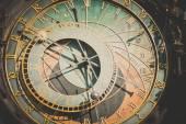 Fotografie Detail of the astronomical clock