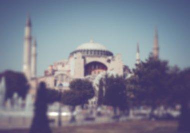 Blurred Sultanahmet Square