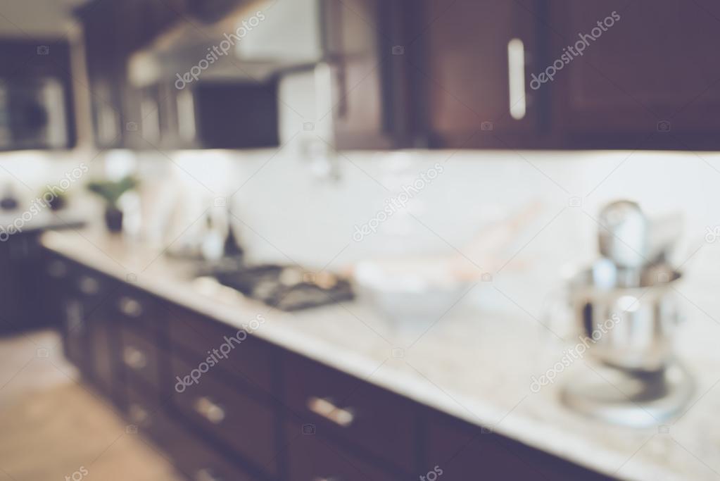 Retro Design Keuken : Wazig keuken met retro instagram stijl filter u2014 stockfoto