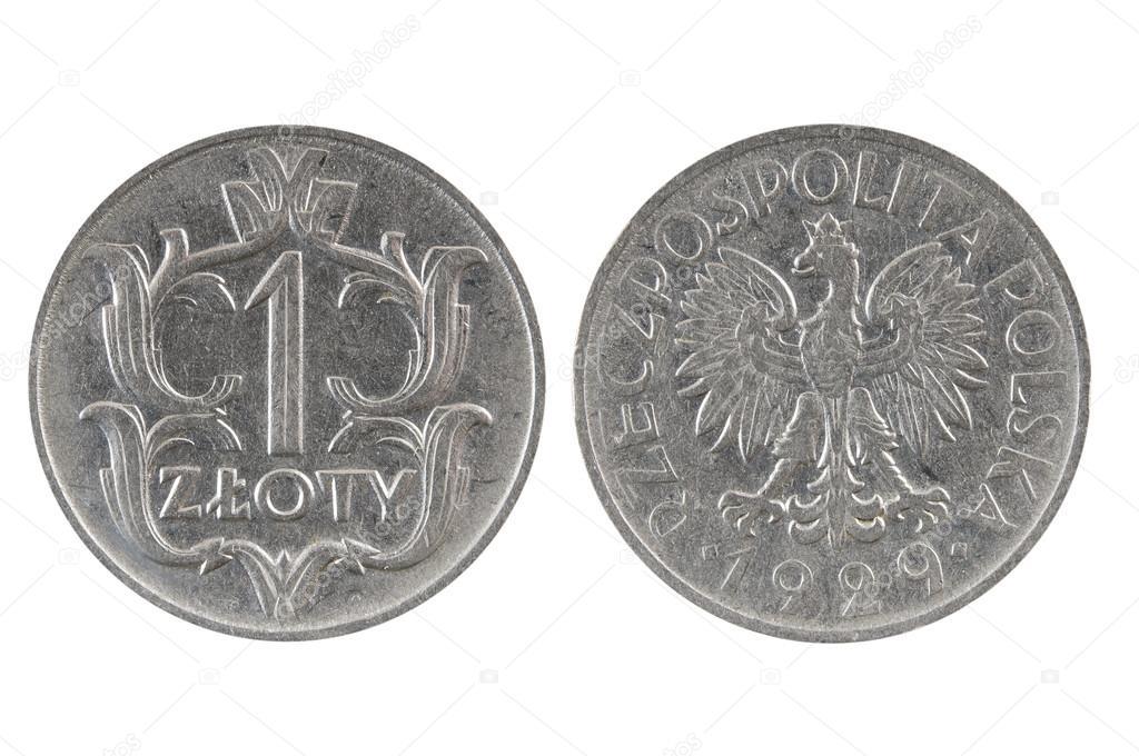 монета 2000 года