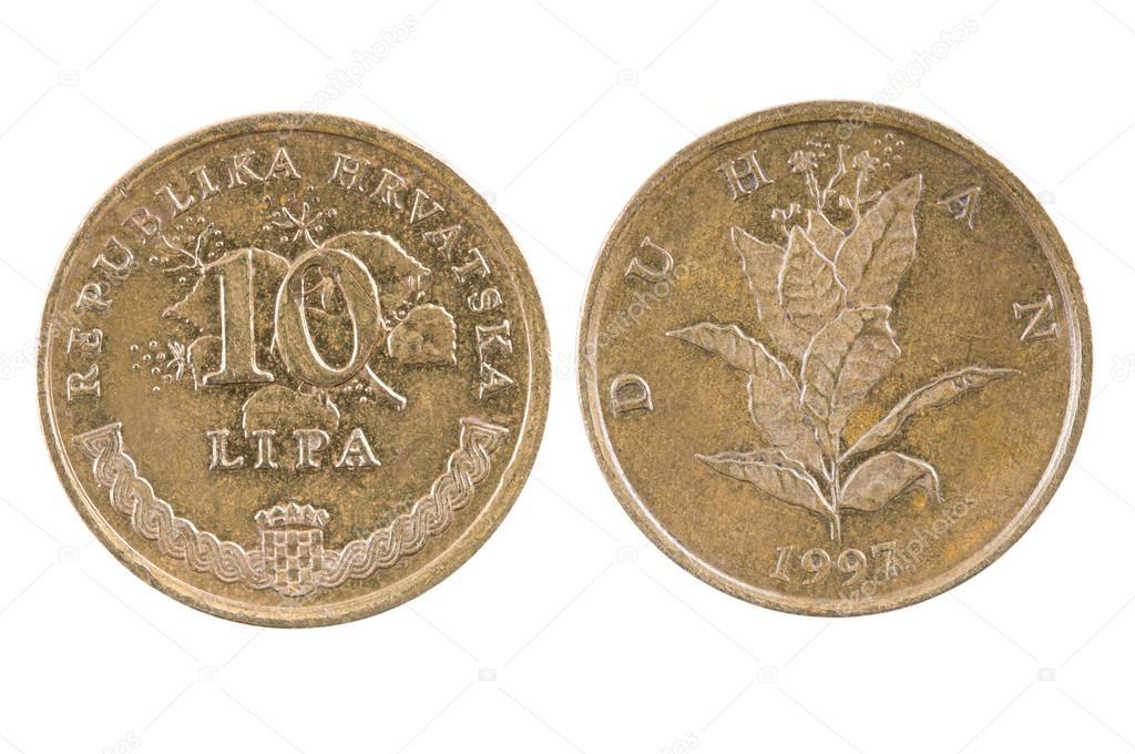 Münze Von Kroatien Stockfoto Andglb 69241285
