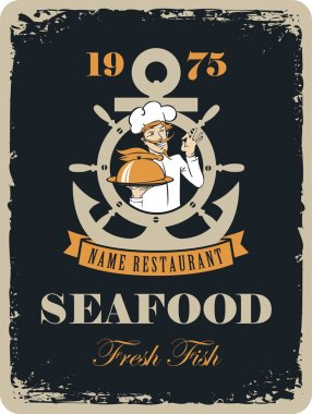 seafood restaurant with maritime cook