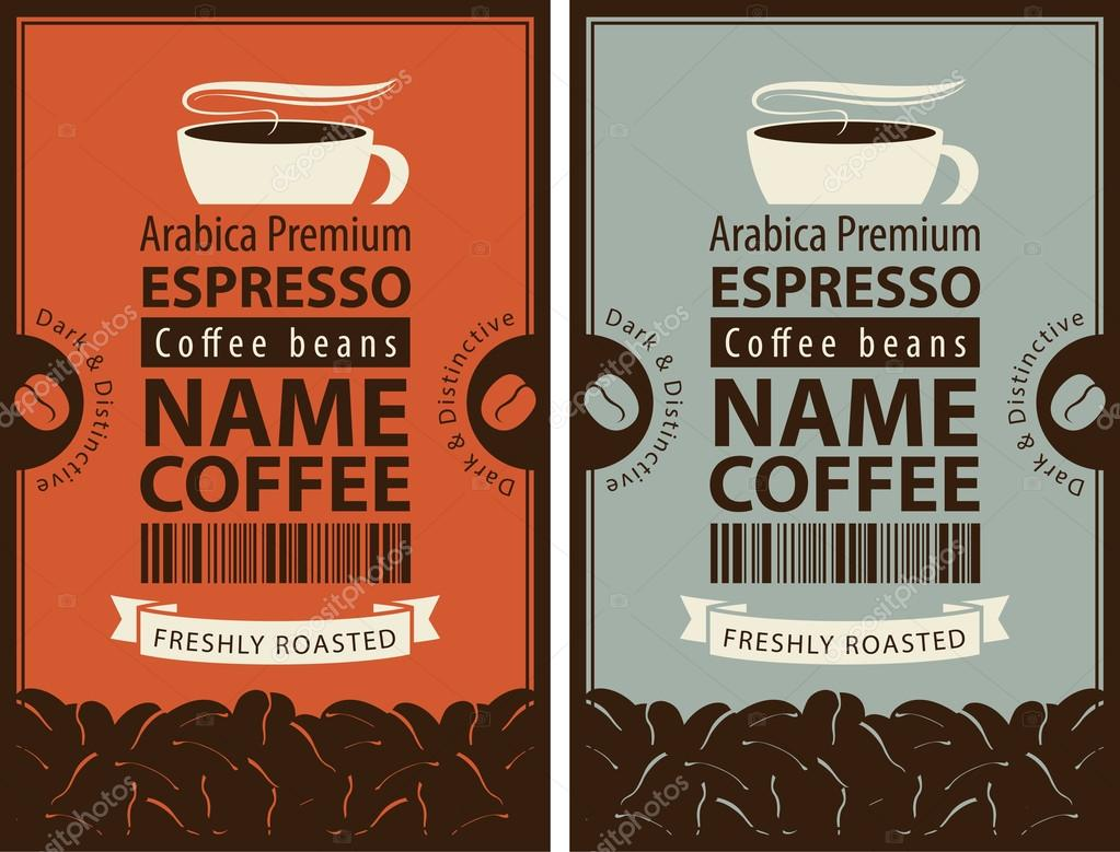 Dise o de etiqueta para caf archivo im genes for Diseno de etiquetas
