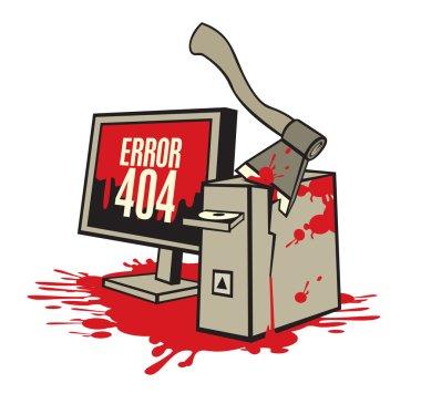"Картина, постер, плакат, фотообои ""компьютер в крови "", артикул 96569960"