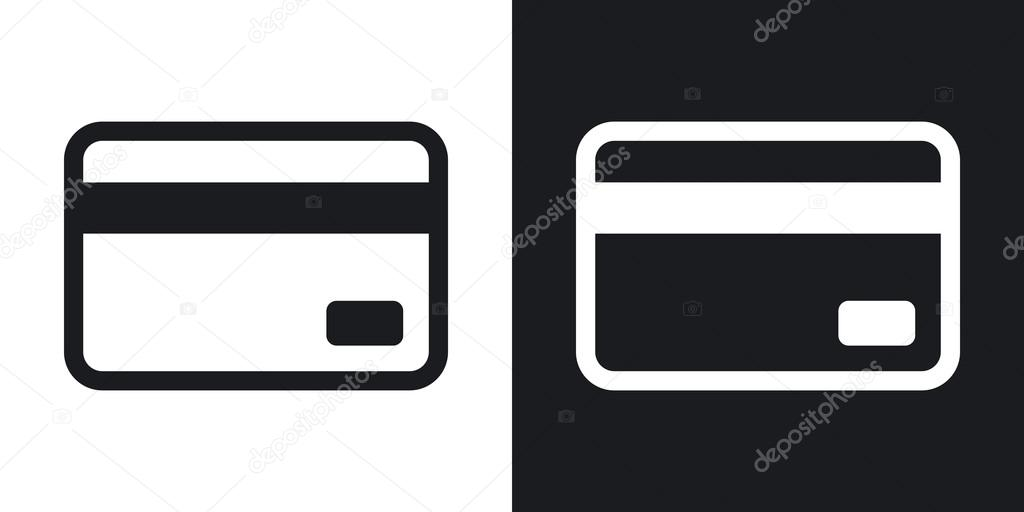 credit card icons stock vector realvector 107037516