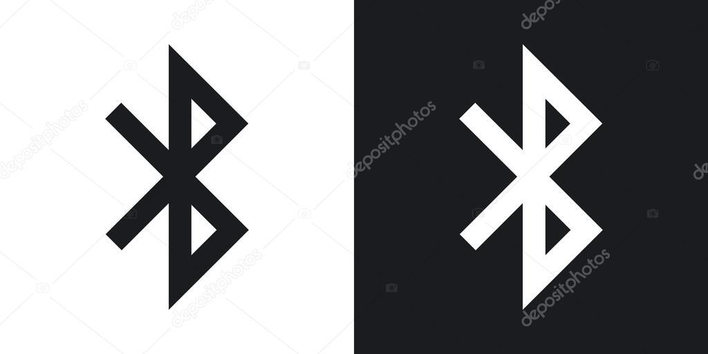 Symbole für Bluetooth-Verbindungen — Stockvektor © RealVector #107041750