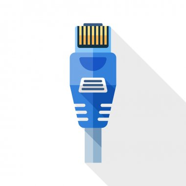 Ethernet Connector with Cable icon.