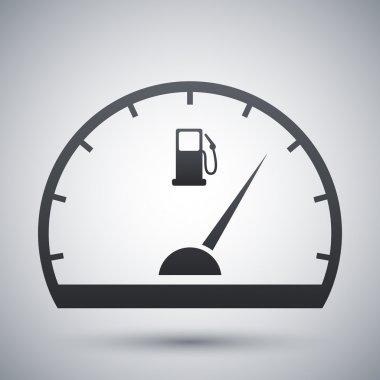 Fuel gauge icon