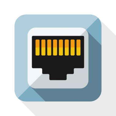 Network socket icon