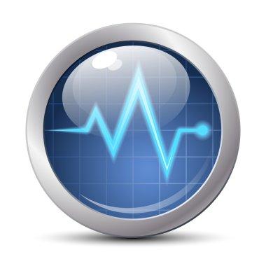 diagnostic icon, button