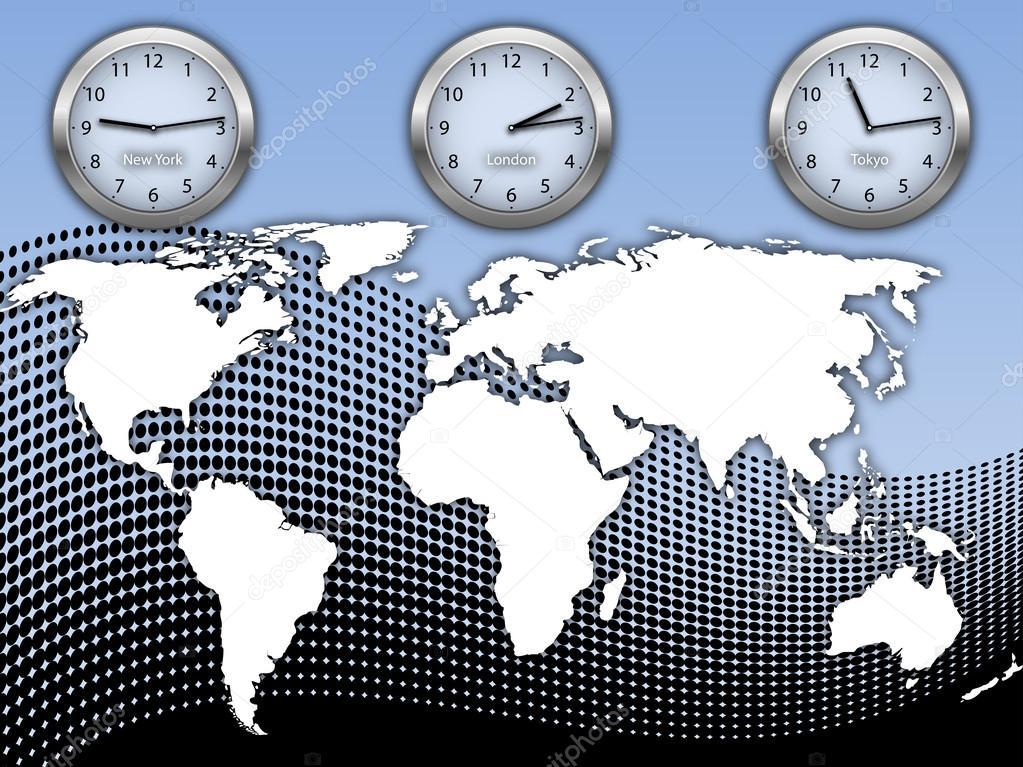 världstider karta Världstid och karta — Stock Vektor © RealVector #79128684 världstider karta