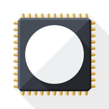 Chip, computer icon