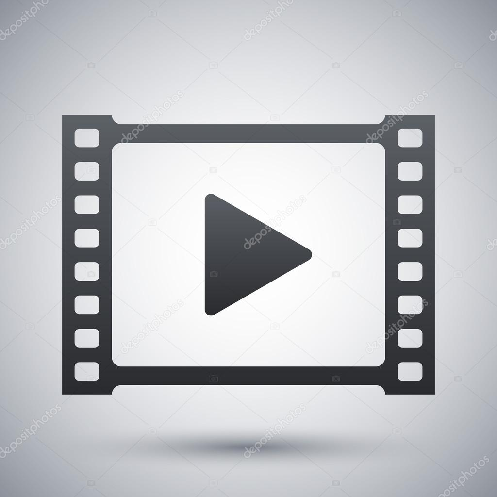video, play icon