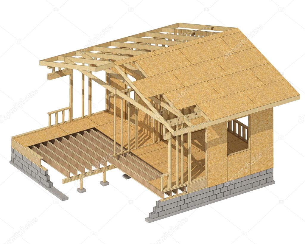 New residential construction home wood framing stock photo new residential construction home wood framing stock photo publicscrutiny Images