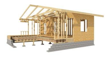 Home wood framing