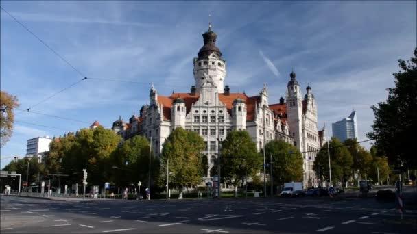 Leipzig New Townhall Stock Video C Kassandra2 66868965