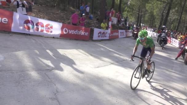 Alejandro Valverde zpomalené
