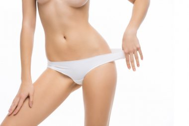 Female torso body part
