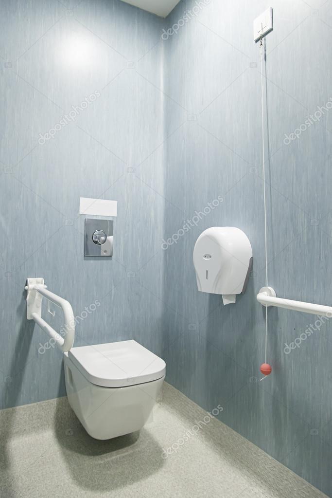 behindertengerechte badezimmer — Stockfoto © esebene-photo #80717084
