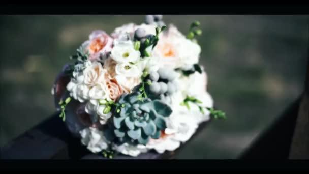 Krásné svatební kytice svatební