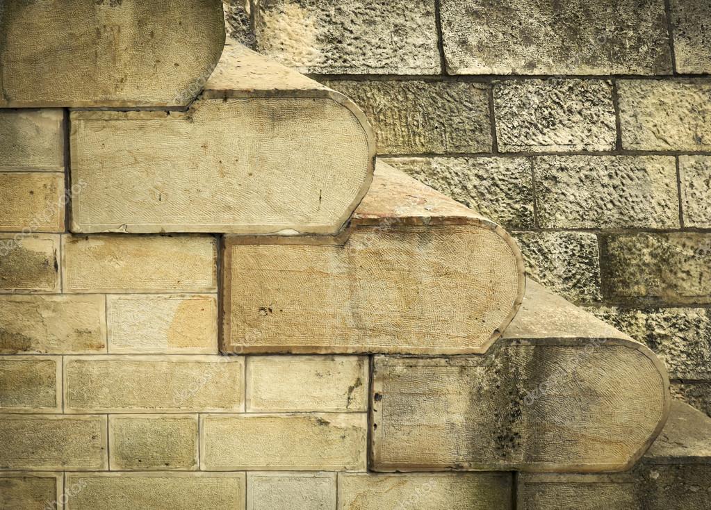 abstracta fondo o textura de la vieja escalera de piedra arenisca u foto de ahojdoma