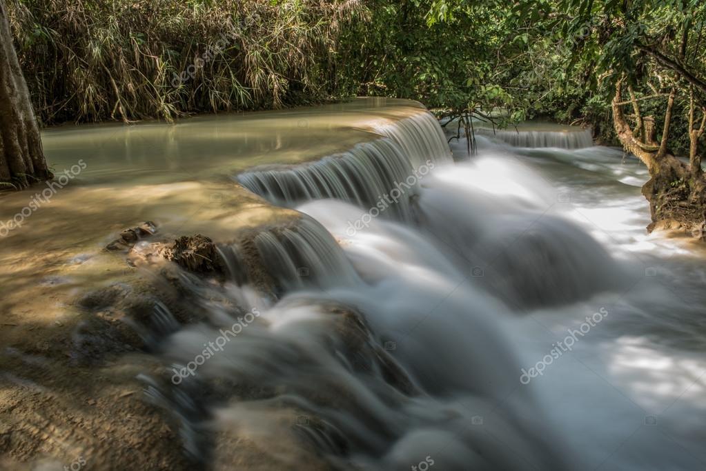 Beautiful Kuang Si Falls