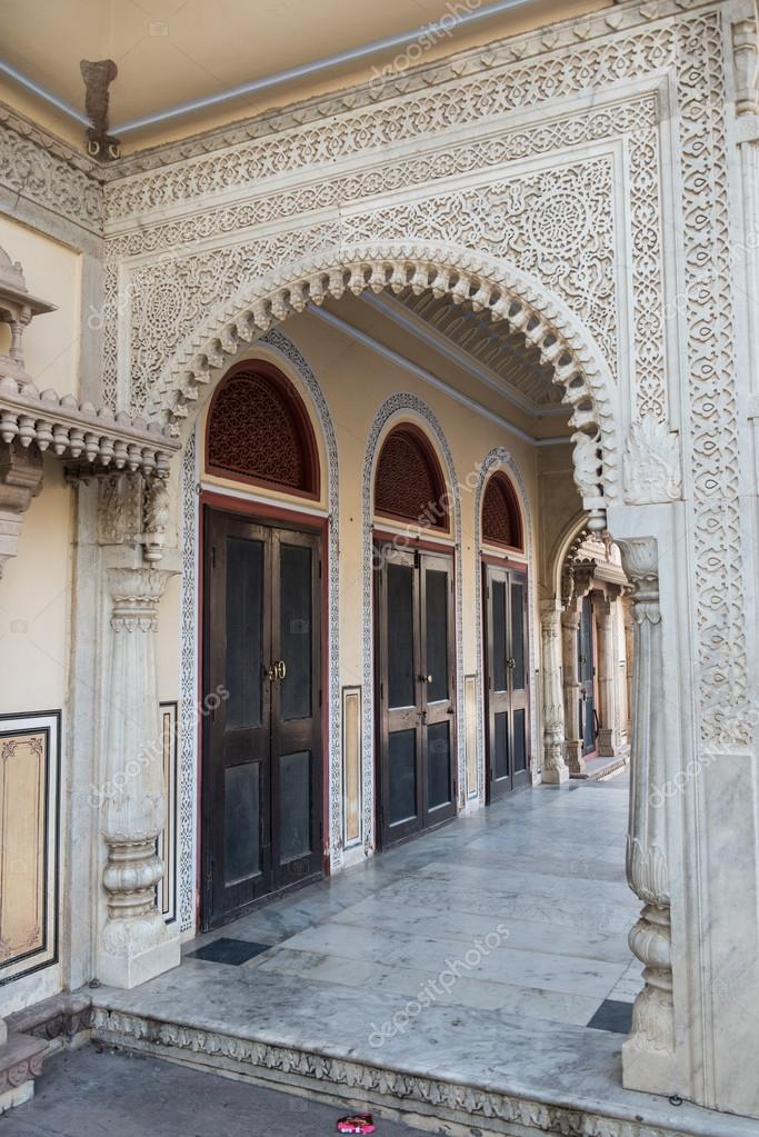 Glass doors in city palace stock photo eugenef 110009318 amazing glass door and architecture of the famous city palace in jaipur rajasthan city palace is divided into two complexes namely mubarak mahal and planetlyrics Image collections