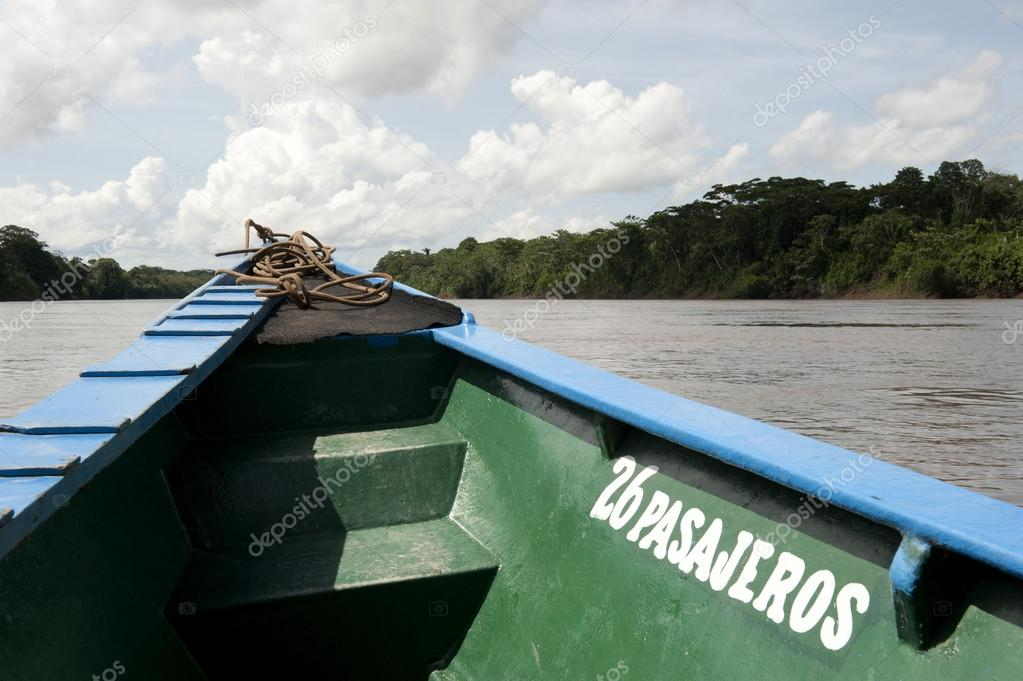 Canoeing In The Tambopata Province