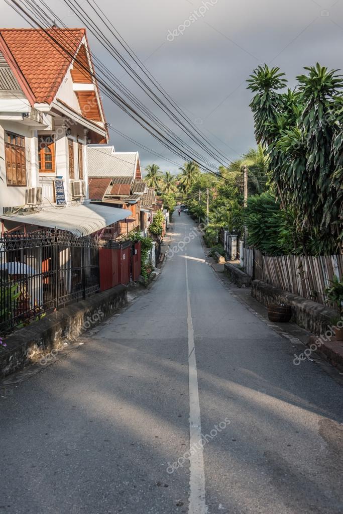 Road in Luang Prabang