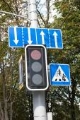 Traffic Sign on the Street