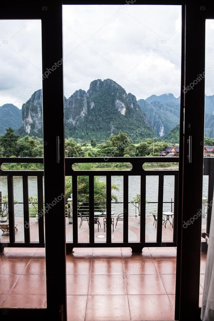 Vang Vieng Karst Mountains