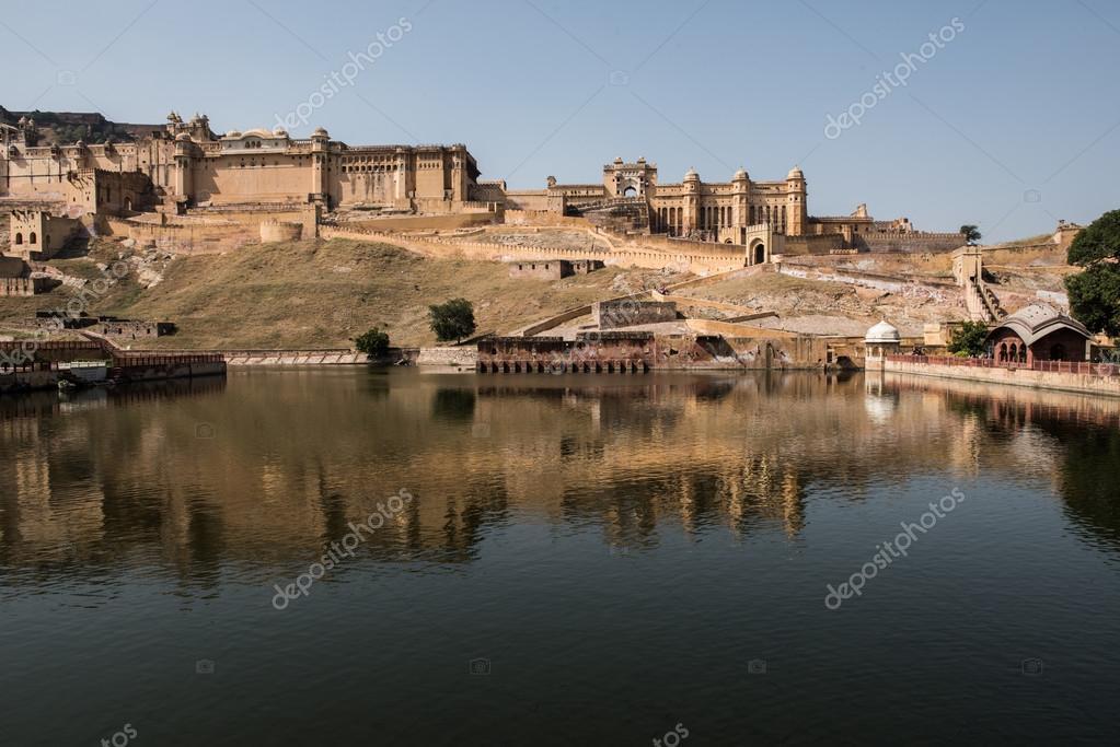 Maota Lake and Amer Palace