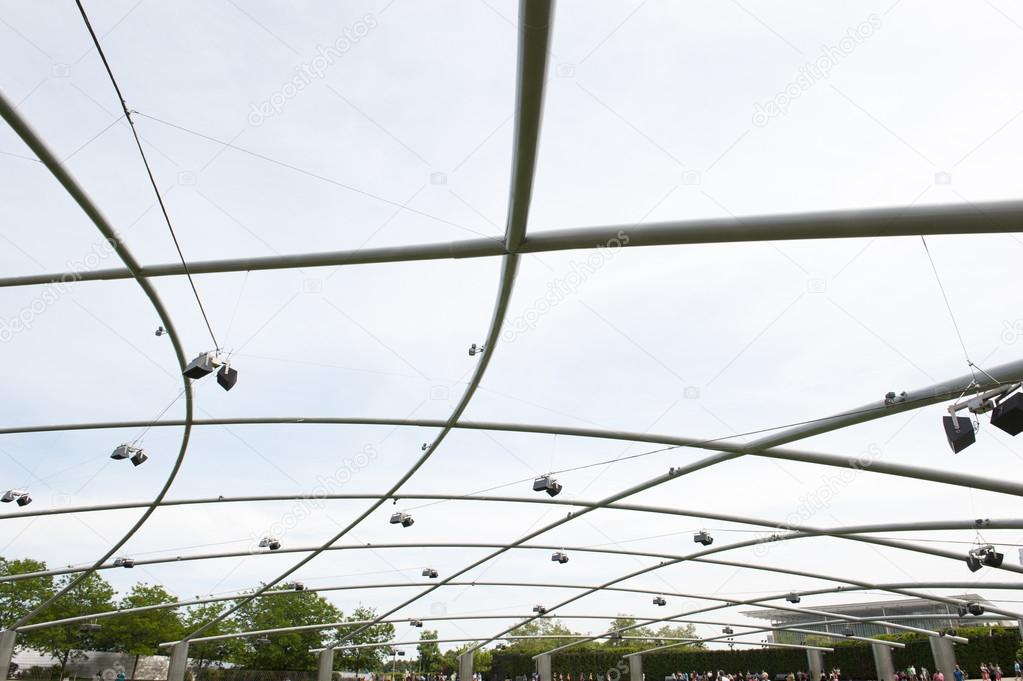 Pritzker Pavilion in Millennium Park