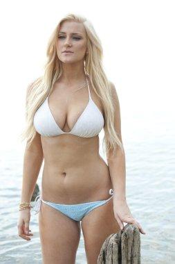 Two piece Swimsuit Model