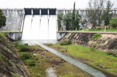 Gigantic Neyyar Dam