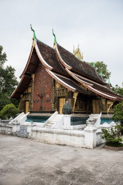Library in Wat Xieng Thong Complex
