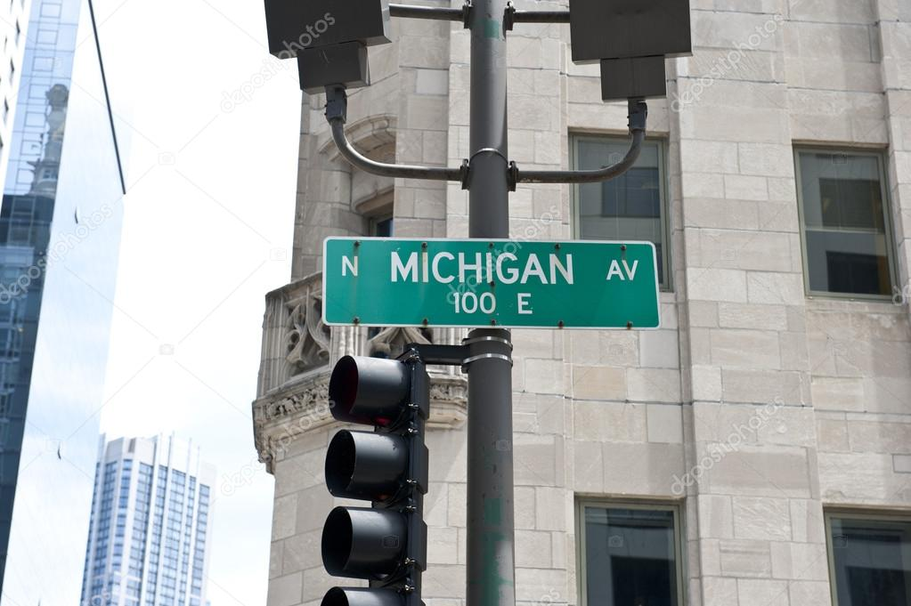 Traffic Signal on Street