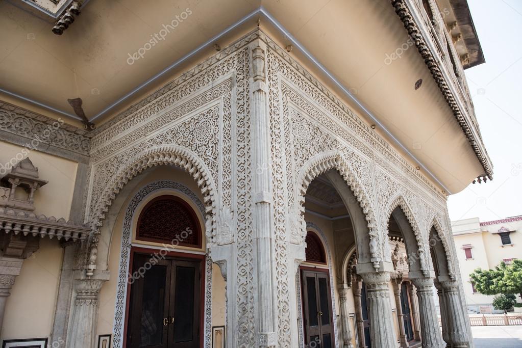 Mubarak Mahal Facade