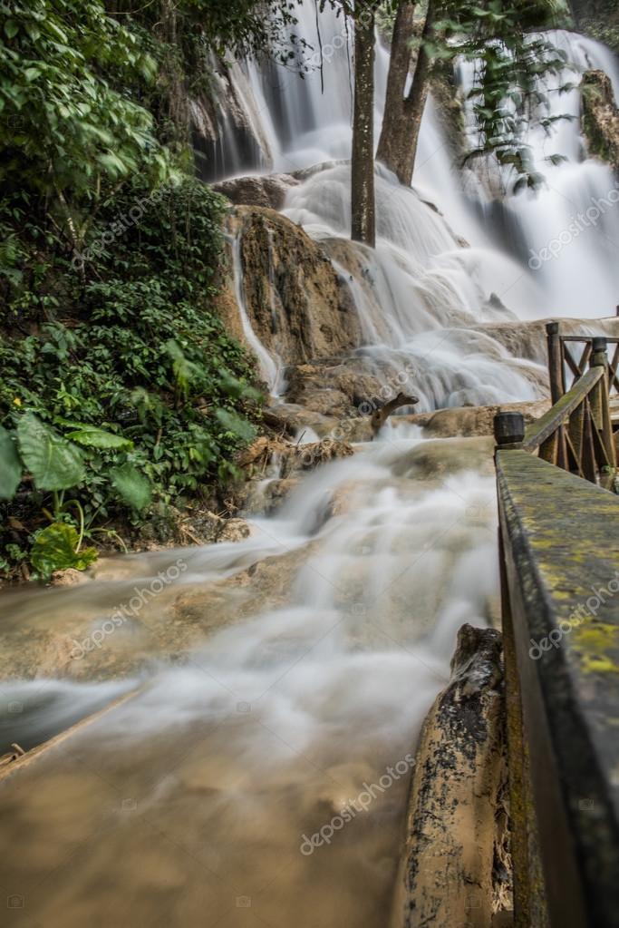 Magnificent Kouang Si Falls