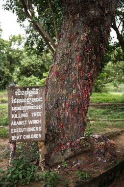 Genocidal Field in Cambodia