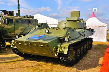 MOSCOW, RUSSIA - AUG 2015: SNAR-10 Big Fred presented at the 12t