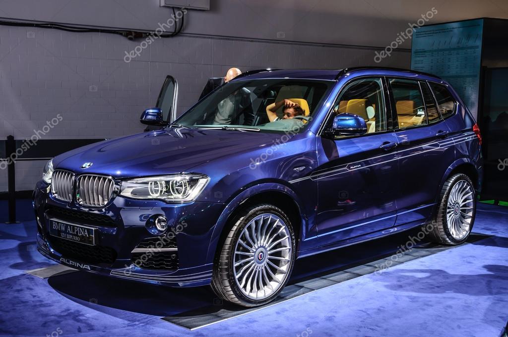 FRANKFURT - SEPT 2015: BMW Alpina XD3 Biturbo presented at IAA I ...