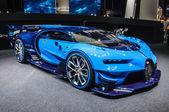 FRANKFURT - SEPT 2015: Bugatti Chiron Vision Gran Turismo presen
