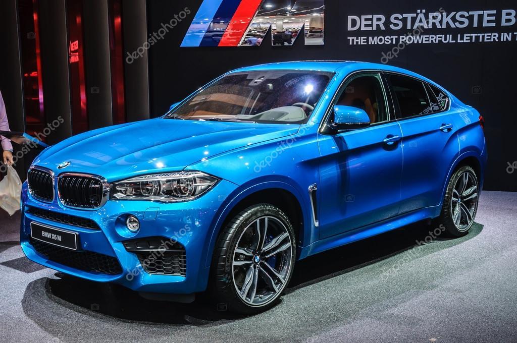 FRANKFURT - SEPT 2015: BMW X6 M presented at IAA International