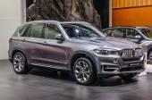 FRANKFURT - SEPT 2015: BMW X5 xDrive30d presented at IAA Interna